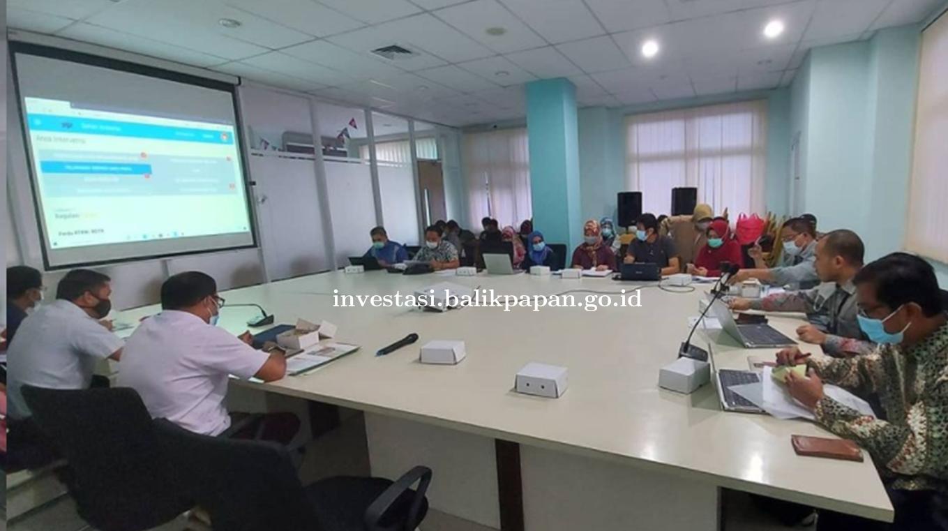 Rapat Koordinasi Evaluasi Program Pencegahan Korupsi Terintegrasi dan Monitoring Evaluasi di 7 Area