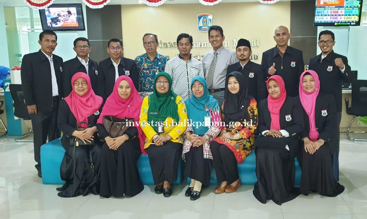 Kunjungan kerja peserta Diklat PIM IV Regional Makassar