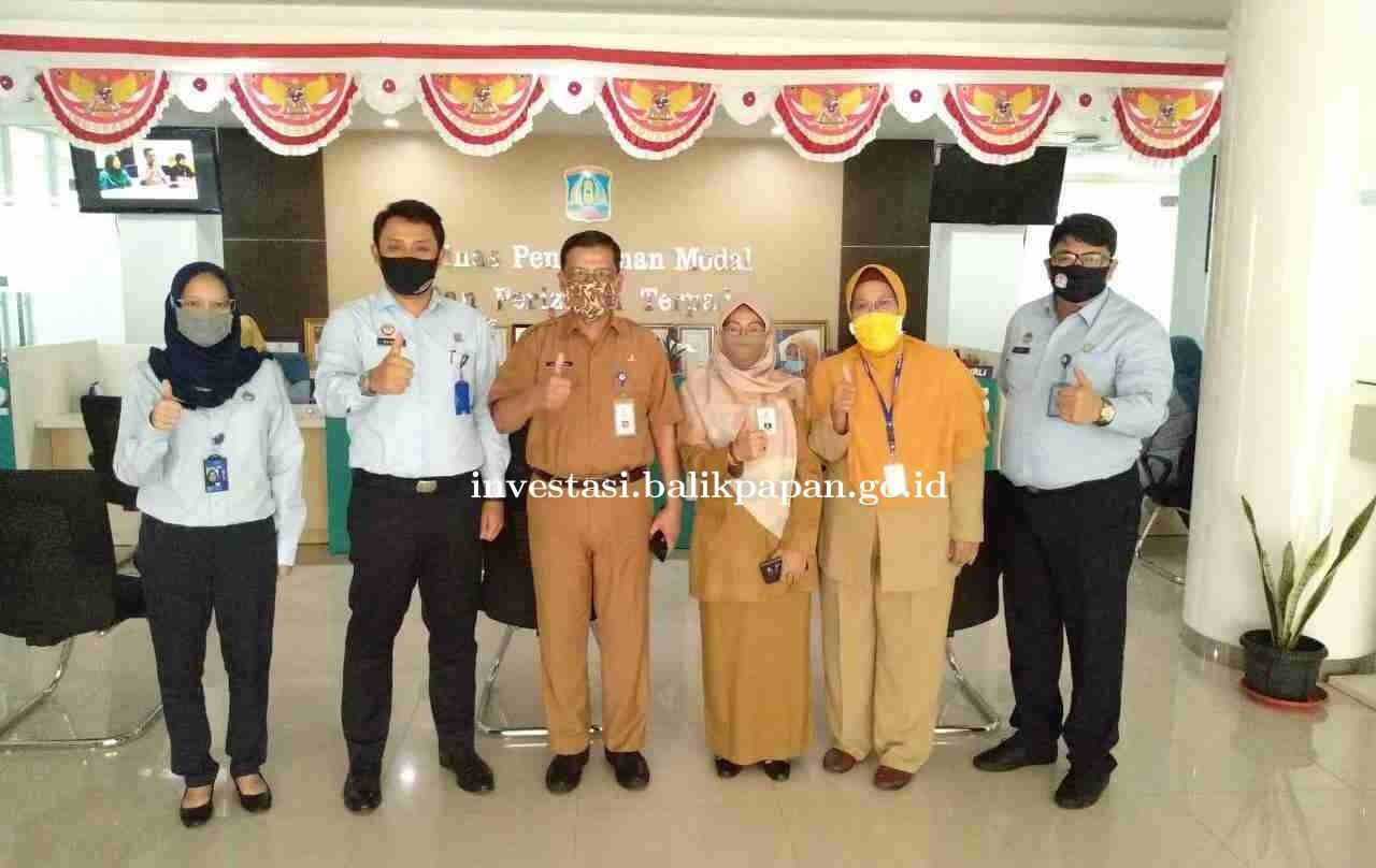 Kantor Imigrasi Balikpapan menyempatkan mengunjungi ruang laktasi dan ruang pengaduan DPMPT