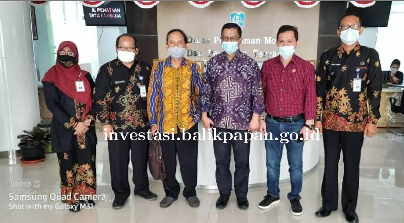 Kunjungan Kerja dari DPMPTSP Kab. Tabalong dan DPRD Palu ke DPMPT Balikpapan