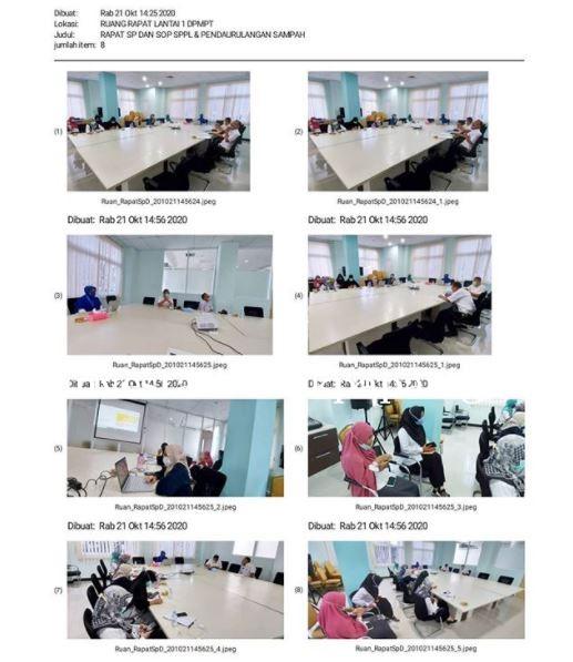 Rapat koordinasi penyusunan Standar Pelayanan SPPL dan Izin pendaurulangan sampah